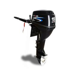 motor parsun 4t 15hp 323cc largo - manual con caña - 51kg