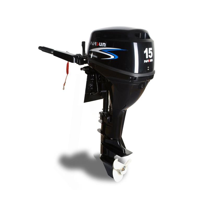 motor parsun 4t 15hp 323cc largo - manual con caña - 51kg