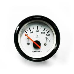 Reloj Indicador De Temperatura De Agua De Motor Aro Negro Pricol