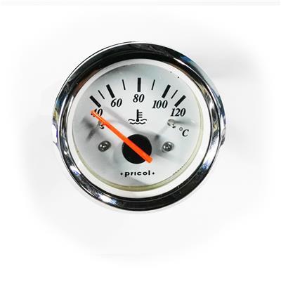 Reloj Indicador De Temperatura De Agua Para Motor Aro Cromado Pricol