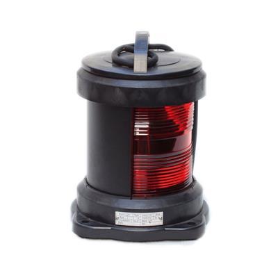 Luz de navegación para barco hasta 50 mts de eslora h200mm banda rojo 112.5º