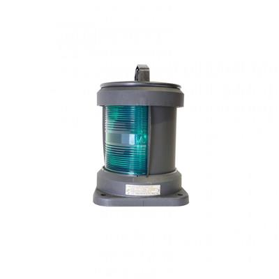 Luz de navegación para barco mayor a 50 mts de eslora 288mm banda verde 112.5º