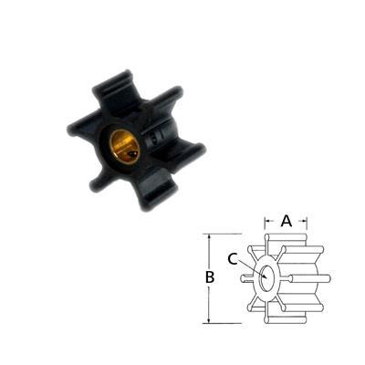Rotor 12104-0001 Itt Neopreno
