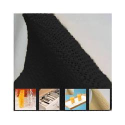 Antideslizante mantel 30cm x metro negro