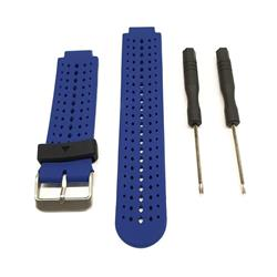 Malla para Reloj Garmin Forerunner 220 - 230 - 235 - 620 - 630 - 735. Color Azul y Negro