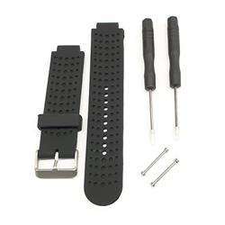 Malla para Reloj Garmin Forerunner 220 - 230 - 235 - 620 - 630 - 735. Color Negro.