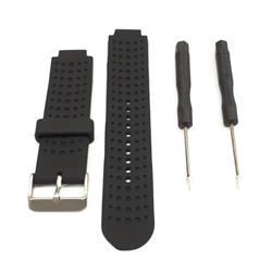 Malla para Reloj Garmin Forerunner 25. Color Negro. Grande (Large)