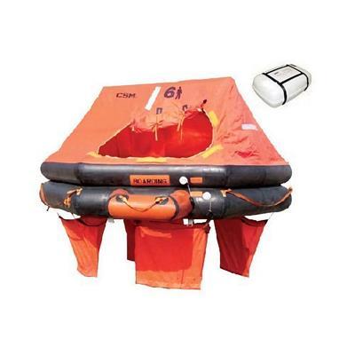 Balsa  Salvavidas ISO 9650-1A  12 Per Equipo Costero Youlong