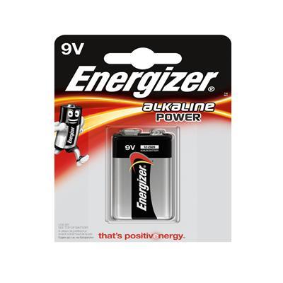 Pila 9v batería energizer 9v e522bp