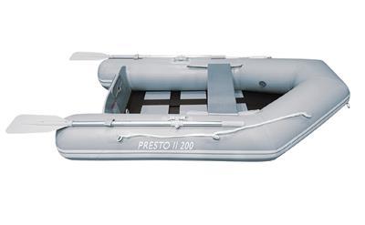 Bote expedicionario inflable de 2.00 piso inflable 18.5 kg carga 350 kg