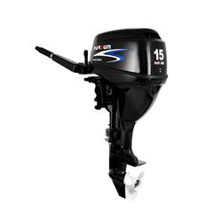 motor parsun 4t 15hp 323cc corto - manual con caña - 48kg