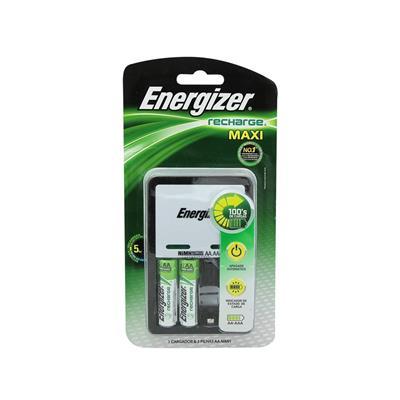 Pila Recar Cargador Energizer+2Pila
