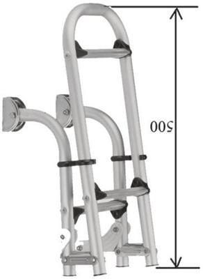 Escalera Aluminio Pleagle 3 Esc 210? 830??,