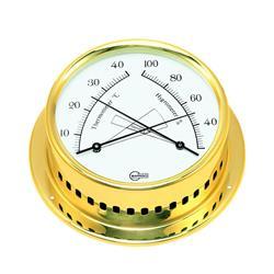 Barigo línea 120 regatta bronce termohigrómetro ¢100mm