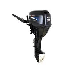 motor parsun 4t 25hp 498cc corto - eléctrico con control remoto - 68kg
