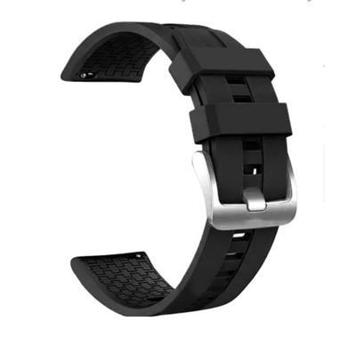 Reloj Malla Amazfit Pace Stratos Samsung S2 S3 Negra