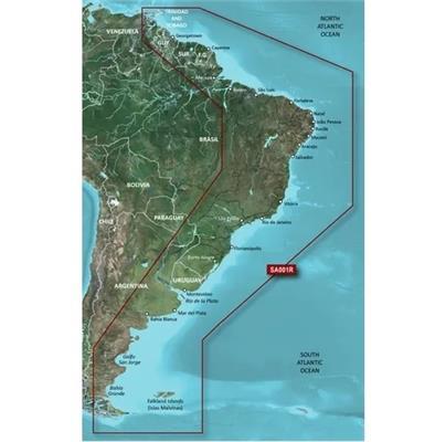 Mapa argentina y mercosur
