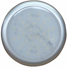 Plafón led ¢ 130mm 78 led aro plateado