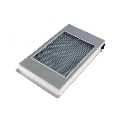 Plafón led 110x185mm 48 led blanco con interruptor