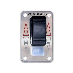 Malacate p/ancla accesorio tablero subir y bajar con interruptor