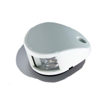 Luz de proa bicolor con led carcasa blanca