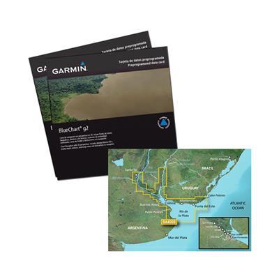 Carta Garmin Río De La Plata Rosario - Río Negro - Punta del Este