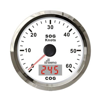 Cuenta millas de precision con gps incorporado y compas electronico 60 nudos - 110 km