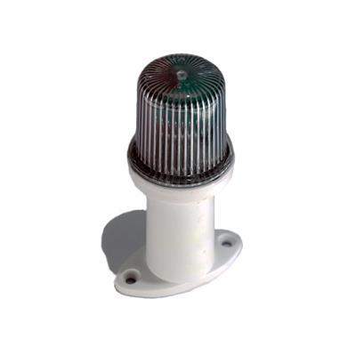 Luz de tope tricolor con base blanca