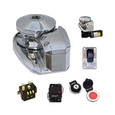 Malacate para Ancla  V0600W Bullw Vertical Acero Inox