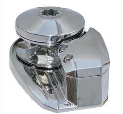 Malacate para ancla eje vertical 900 watt de potencia de acero inoxidable pulido