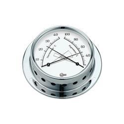Barigo línea 70 tempo s cromado termohigrómetro ¢ 70mm