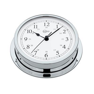 Reloj Barigo Cromado 130 mm Arabigo