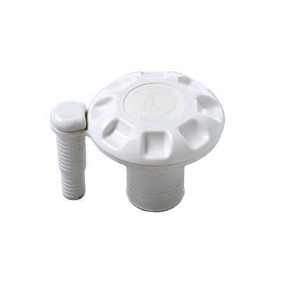 Tapa Tanque Agua con Venteo 38 mm Abs Blanca 1.1/2