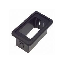 Interruptor waterproof bastidor para un solo interruptor