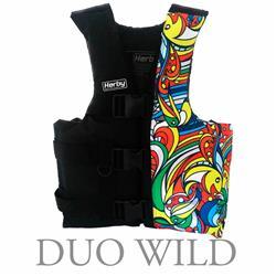 Chaleco wakeboard 4 tiras 2m 40/60 para alta perfomancia
