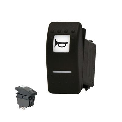 interruptor waterproof con led pulsador (bocina)