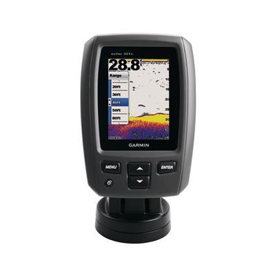 ecosonda color display 8.90cm garmin echo 301c-definición alta doble frecuencia baja y alta profun