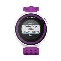 Reloj forerunner 220+hrm violeta blanco