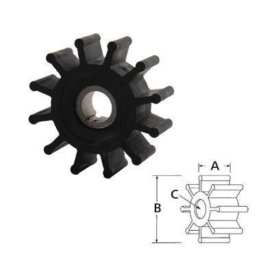 Rotor  1210-0001 Rx Volvo 860203 87