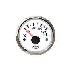 Indicador de temperatura de agua aro cromado kus