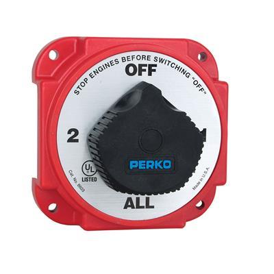 Llave Corte 2 Bateria 380/850 Amp Perko