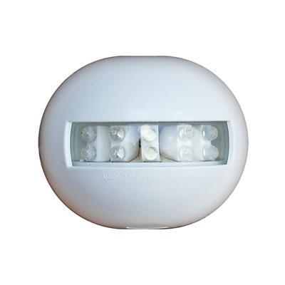 Luz de popa led carcasa blanca