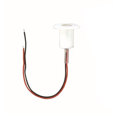 Luz de cortesia 1 led luz blanca ¢28x24mm abs