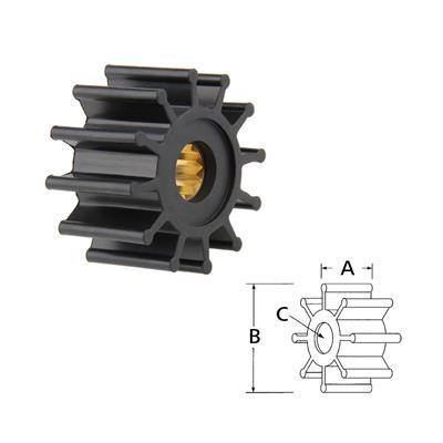 Rotor  1210-0001Rx Volvo 860203 8