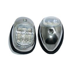 Luz banda par led 97x60mm par inoxidable