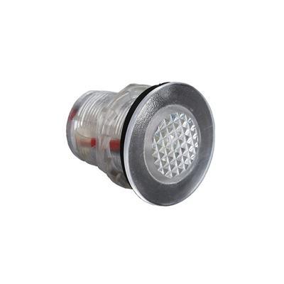 Luz de cortesia 4 led luz blanca D34x33mm