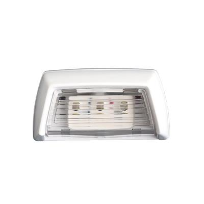 Luz de cortesia 3 led luz blanca 88x46mm waterproof