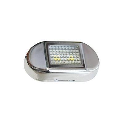 Luz de cortesia 2 led luz calidad 24x46mm waterproof
