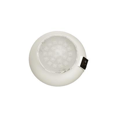 Plafón led D 120mm 24 led luz blanca con interruptor