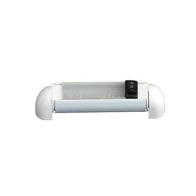Plafón LED Tubular Giratorio 12 LED Luz Blanca Calida 150x27mm
